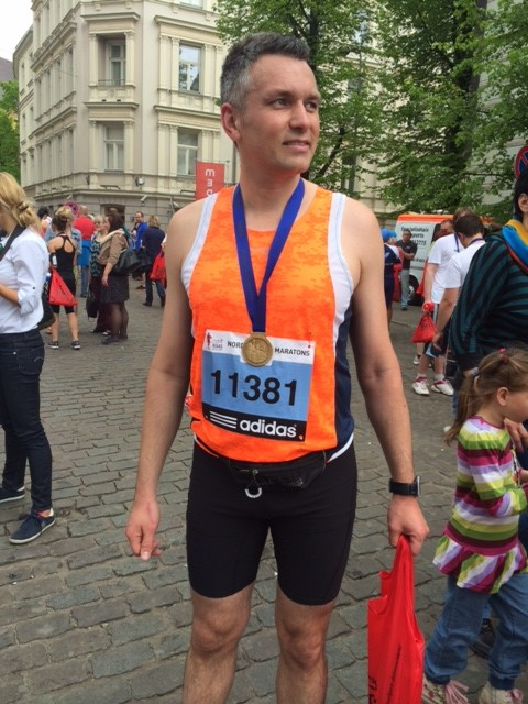 GoAndre has finished Riga's 10k race